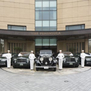 The Peninsula in Tokio: Rolls-Royce and BMW Car Fleet with Pages
