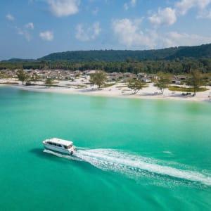 The Royal Sands Koh Rong in Sihanoukville & Inseln: Royal Sands Boat
