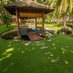 Blue Ocean Resort à Phan Thiet: Sala Island in the Garden