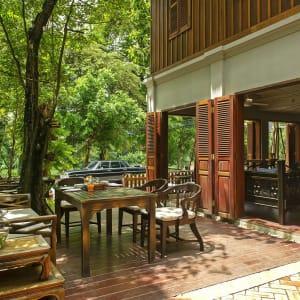 Burasari Heritage in Luang Prabang: Sitting Area