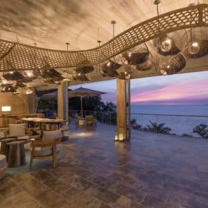 Six Senses Krabey Island à Sihanoukville & Îles: Sunset at the lobby