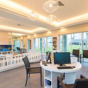 The Waters Khao Lak by Katathani: Tech Hub and Living Room