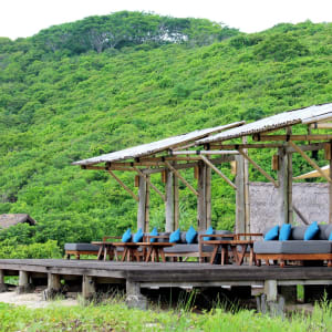 Jeeva Beloam Beach Camp in Lombok: Terrace