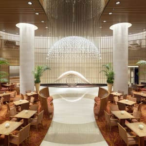 The Peninsula in Tokio: The Lobby