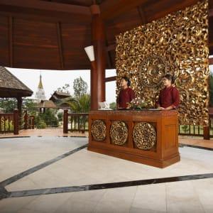 Pristine Lotus Resort in Inle Lake: The Reception