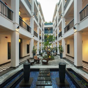 Maison Vy Hotel in Hoi An: Walkway