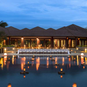 Amanpulo in Palawan: West Villa Clubhouse