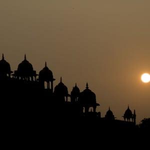 Goldenes Dreieck ab Delhi: Fatehpur Sikri: Sunset
