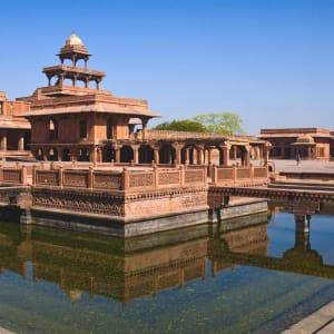 Indien für Geniesser ab Delhi: Fatehpur Sikri: UNESCO World Heritage