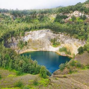 Flores - Traditionen, Riten und Vulkane ab Ende: Flores Mount Kelimutu