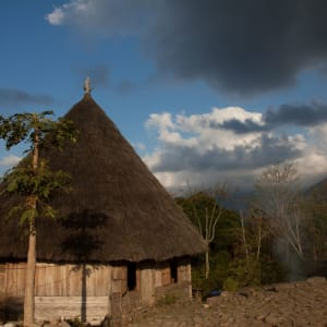 Flores - Traditionen, Riten und Vulkane ab Ende: Flores Ruteng traditional house