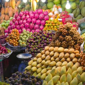 Les hauts lieux de la Thaïlande de Bangkok: Fresh Fruit Market