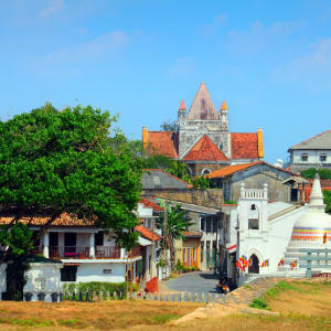 Yala Nationalpark Safari - Chena Huts - 3 Tage ab Colombo: Galle: old part of the city