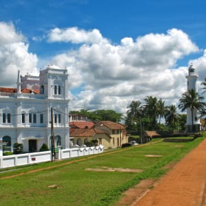 Yala Nationalpark Safari - Chena Huts - 3 Tage ab Colombo: Galle: Watchtower in the back