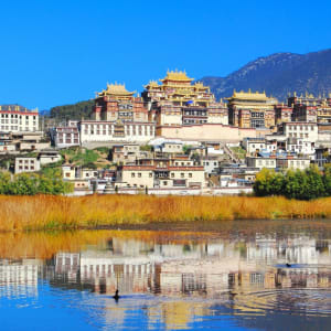 Les hauts lieux du Yunnan de Kunming: Ganden Sumtseling Monastery Zhongdian