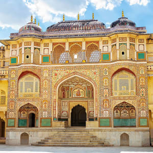 «The Deccan Odyssey» - L'éclat du Rajasthan de Mumbai: Gateway, Amber fort in Jaipur