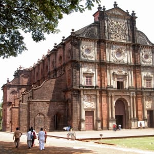 Goa dans toute sa diversité: Goa Basilica of Bom Jesus 001 - G