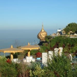 Fascination du sud du Myanmar de Yangon: Golden Rock