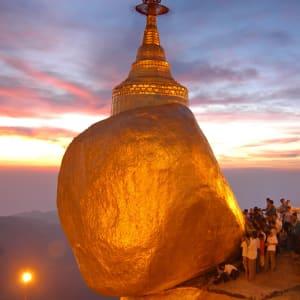 Faszinierendes Süd-Myanmar ab Yangon: Golden Rock