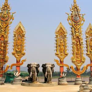 Les hauts lieux de la Thaïlande de Bangkok: Golden Triangle: