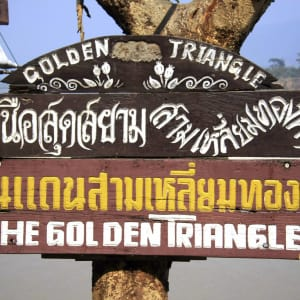 Au fil du Mékong cap sur Luang Prabang de Chiang Mai: Golden Triangle: