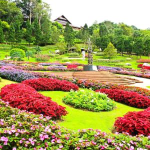 Thailand für Geniesser ab Bangkok: Golden Triangle: Mae Fah Luang Garden