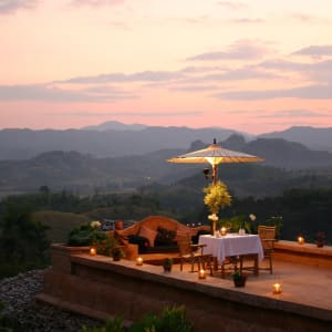 Le Triangle d'Or de Chiang Mai: Golden Triangle: Phu Chaisai Resort