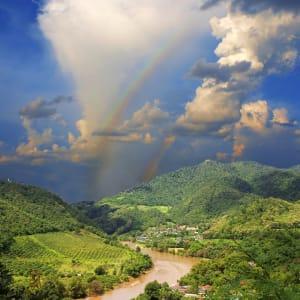 Mietwagenrundreise Goldenes Dreieck ab Chiang Mai: Golden Triangle spectacular view