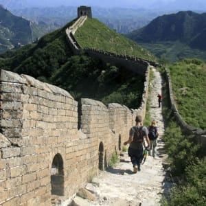 Great Wall Trekking ab Peking: Great Wall Jinshanglig