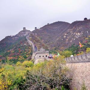 Avec le train du Tibet sur le toit du monde de Pékin: Great Wall Juyong
