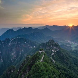 La Chine pour les fins connaisseurs avec une croisière de luxe sur le Yangtze de Pékin: Great Wall Mutianyu