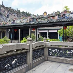Reisterrassen & Bizarre Berglandschaften ab Guilin: Guangzhou ancient memorial of the Chen family