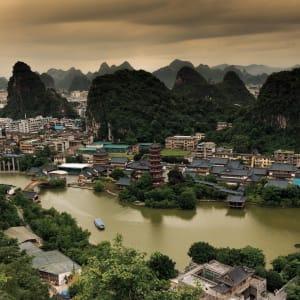 Les hauts lieux de la Chine de Pékin: Guilin: City