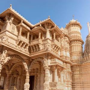 L'état inconnu de Gujarat de Ahmedabad: Gujarat: Hathee Singh Jain Tempel