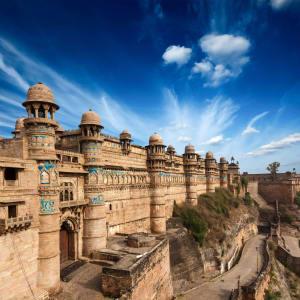 La féerie du Rajasthan de Delhi: Gwalior: Fort