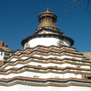 Circuit spectaculaire du Yunnan au Tibet de Kunming: Gyantse Kumbum Monastery