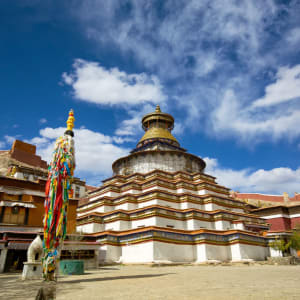 Avec le train du Tibet sur le toit du monde de Pékin: Gyantse Palcho Monastery
