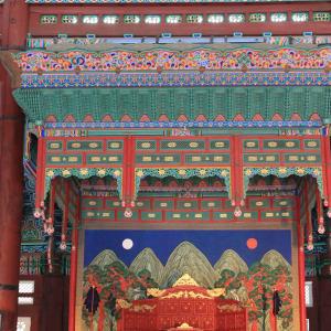 Vielfältiges Südkorea ab Seoul: Gyeongbokgung Palace inside