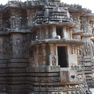 Trésors culturels du Karnataka de Bengaluru: Halebid: temple