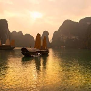 Vietnam Erlebnisreise - Von Hanoi zum Mekong Delta: Halong Bay Vietnam Unesco World Heritage Site
