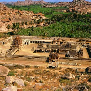 Karnatakas kulturelles Vermächtnis ab Goa: Hampi: UNESCO World Heritage
