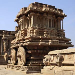 Karnatakas kulturelles Vermächtnis ab Goa: Hampi: Vittala Temple