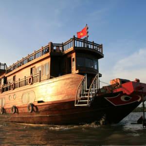 Mekong Delta Fluss-Kreuzfahrten mit «Mekong Eyes» ab Saigon: Head view