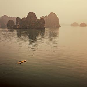 Unberührte Lan Ha Bucht Kreuzfahrt mit «Ginger» ab Hanoi: Heritage Line - LH Ginger - Kayaking