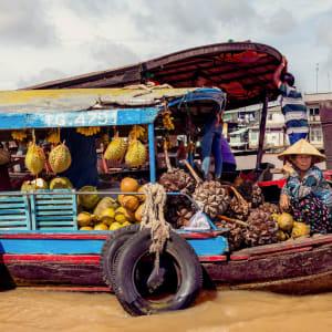 Flusskreuzfahrt nach Angkor ab Saigon: heritage-line-mekong-excursion-cai-be