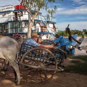 Flusskreuzfahrt nach Angkor ab Saigon: heritage-line-mekong-excursion-kampong-tralach