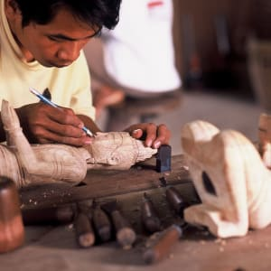 Angkor mystique de Siem Reap: Hidden Workshops Artisans Angkor