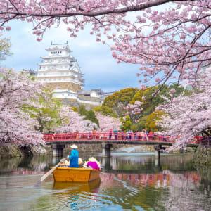 Le Japon sur de nouveaux chemins de Osaka: Himeji Castle