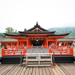 Japan auf neuen Wegen ab Osaka: Hiroshima: Itsukusima shrine miyajima island