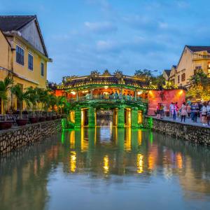 Les hauts lieux du Vietnam de Hanoi: Hoi An Japanese Bridge